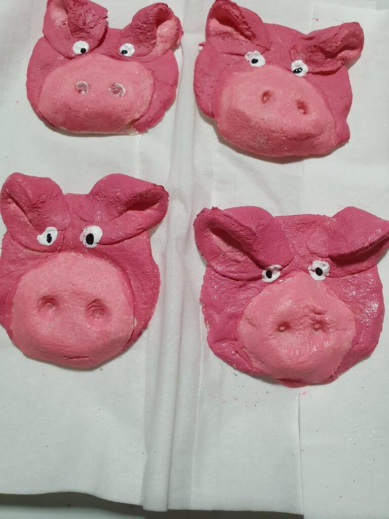Glücksschweinchen aus Salzteig2