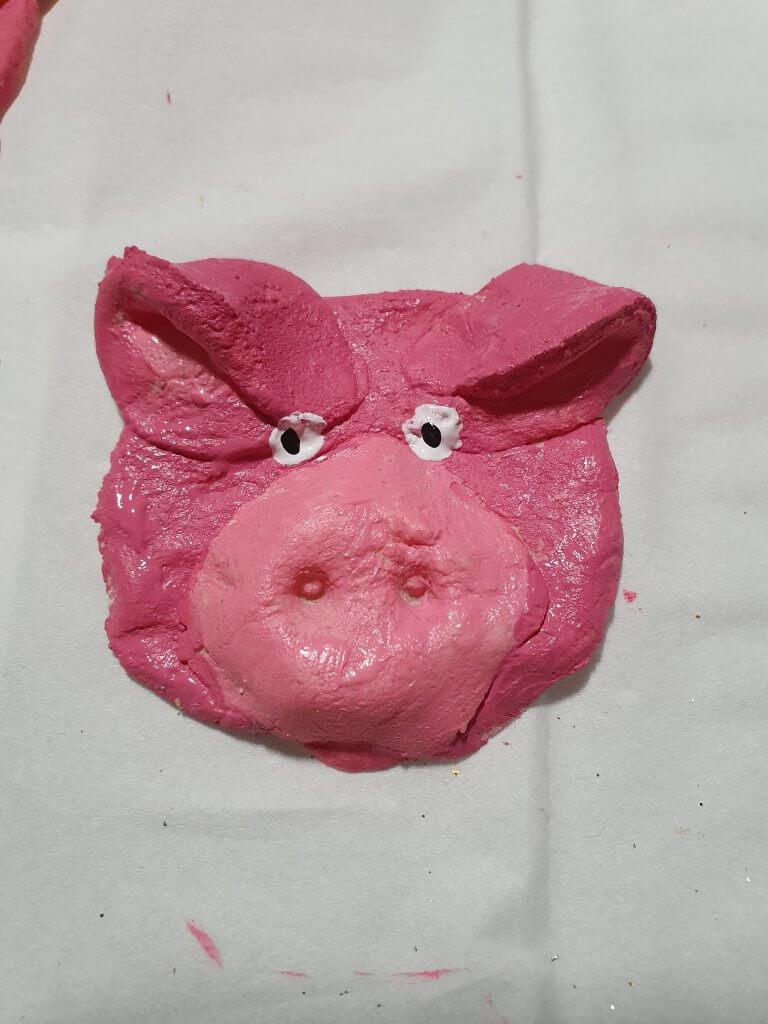 Glücksschweinchen aus Salzteig1
